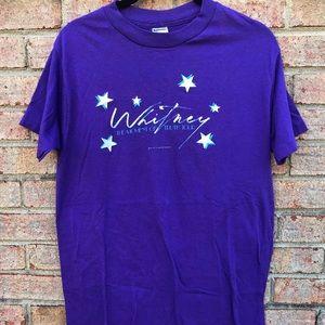 VTG 1987 Whitney Houston Concert Tee